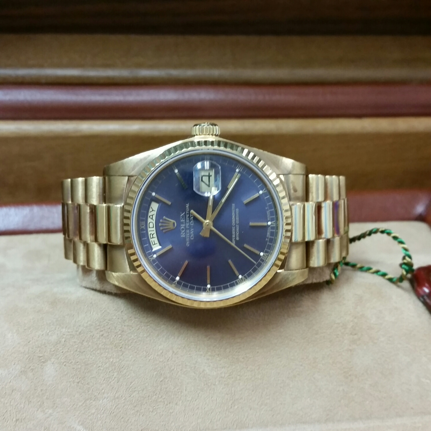 18k Yellow Gold Rolex President