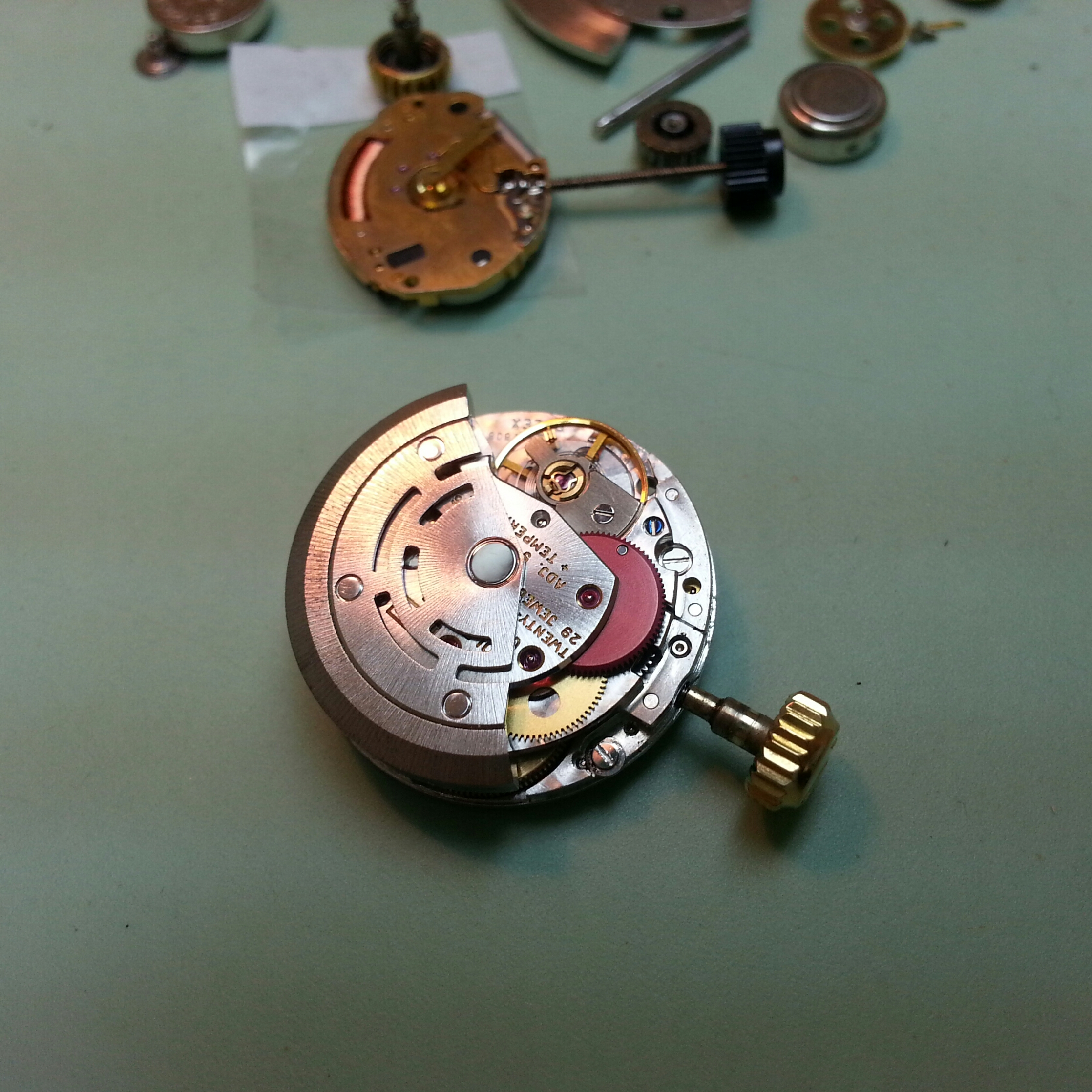Watch Repair-movement