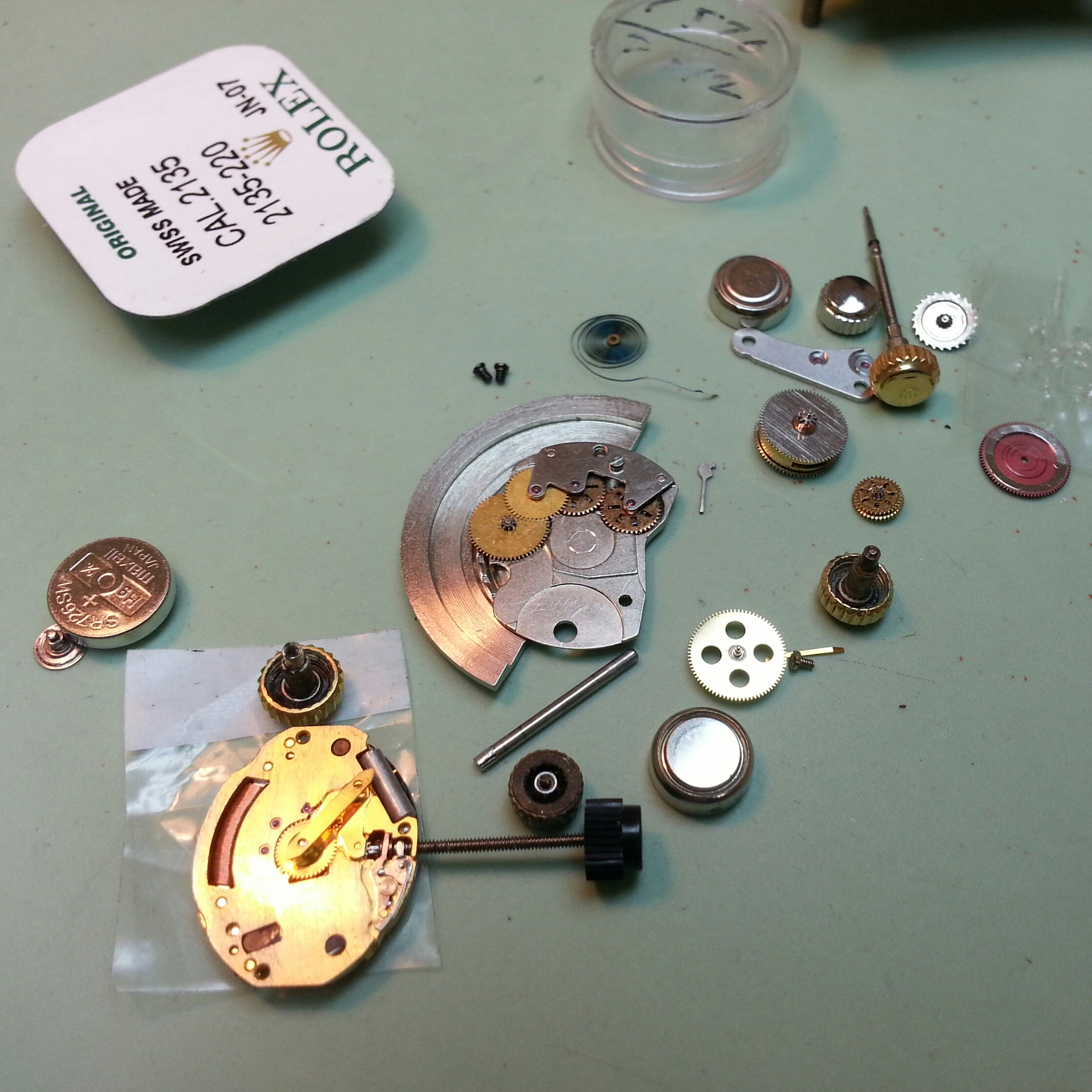 Watch Repair-parts Rolex