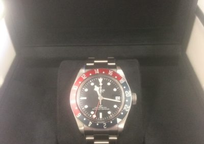 Mint Tudor Black Bay GMT PEPSI Automatic. Purchased new less than 4 months ago. Model 79830RB, complete box & cards. $4400
